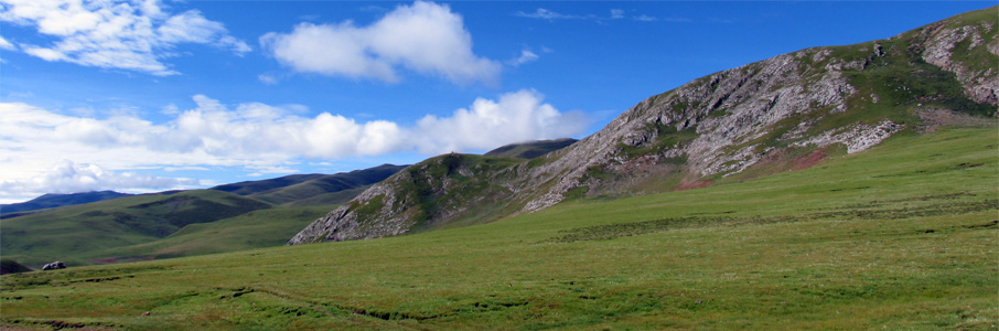 チベットの大地